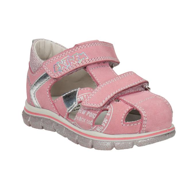 584effbe2706 Mini B Dievčenské kožené sandále s potlačou - Všetky dievčenské ...