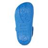 Modré detské sandále so žabkou coqui, modrá, 372-9655 - 18