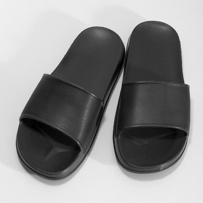Pánske čierne šľapky coqui, čierna, 872-2658 - 16