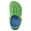 Zelené detské sandále typu Clogs coqui, zelená, 372-7656 - 17