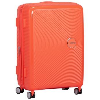 Oranžový kufor na kolieskach american-tourister, oranžová, 960-5614 - 13