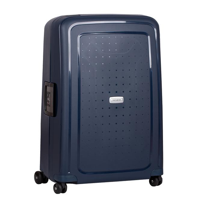 Modrý kufor na kolieskach s pevným obalom samsonite, modrá, 960-9612 - 13