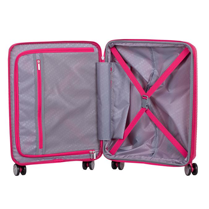 Ružový škrupinový kufor american-tourister, ružová, 960-5615 - 17
