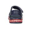 Detské tmavomodré sandále coqui, modrá, 372-9658 - 15