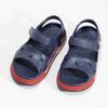 Detské tmavomodré sandále coqui, modrá, 372-9658 - 16