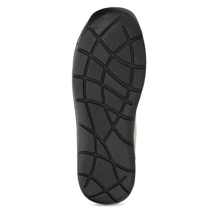 Zimné snehule s kožúškom bata, šedá, 599-8618 - 18