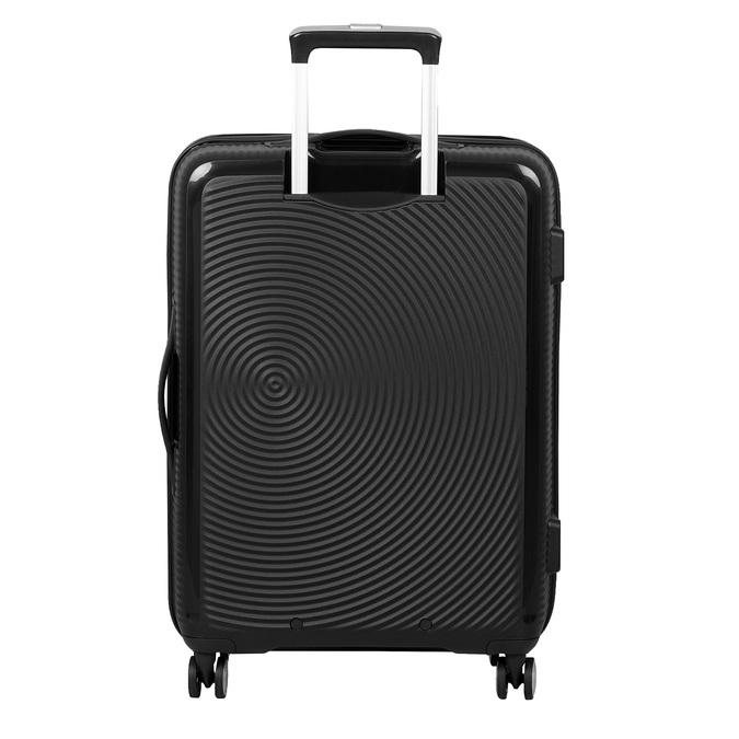 Čierny pevný kufor na kolečkách american-tourister, čierna, 960-6614 - 26