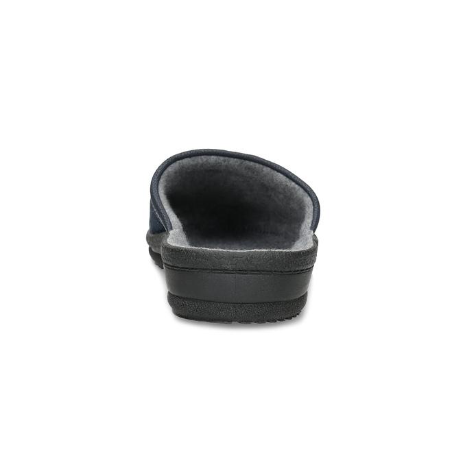 Pánska domáca obuv bata, modrá, 879-9600 - 15