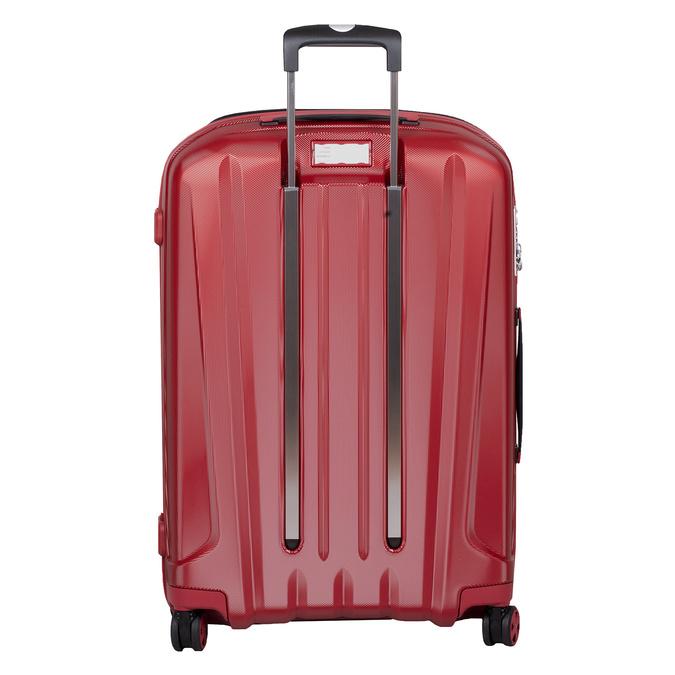 Veľký červený škrupinkový kufor na kolieskach roncato, červená, 960-5736 - 26