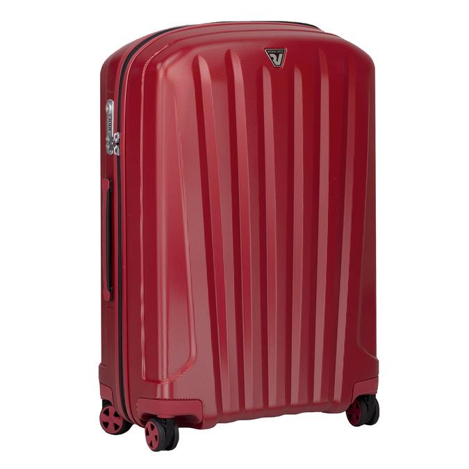 Veľký červený škrupinkový kufor na kolieskach roncato, červená, 960-5736 - 13