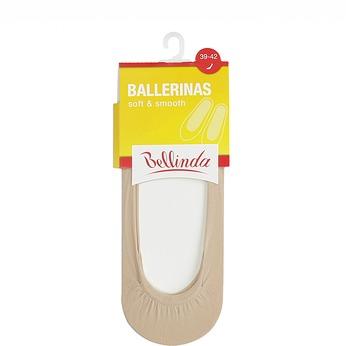 Dámske ponožky do balerín telové bellinda, neutrálna, 919-8726 - 13