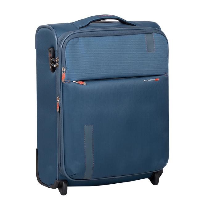 Palubný tyrkysový kufor roncato, modrá, 969-9722 - 13