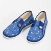Modré detské prezuvky s futbalistami bata, modrá, 279-9129 - 16