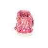 Ružové členkové prezuvky so vzorom bata, ružová, 179-5212 - 15