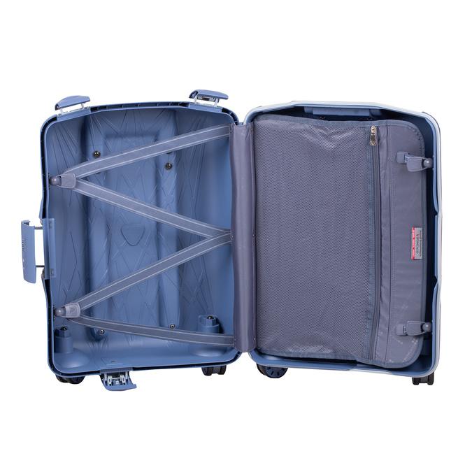 Palubná modrá batožina na kolieskach roncato, modrá, 960-9731 - 17