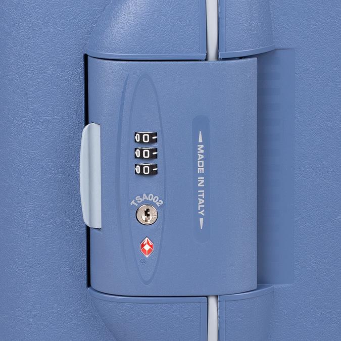 Palubná modrá batožina na kolieskach roncato, modrá, 960-9731 - 15