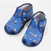 Členkové modré prezuvky so vzorom bata, modrá, 179-9212 - 16