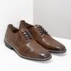 Hnedé kožené pánske poltopánky bata, hnedá, 826-3866 - 26