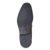 Hnedé kožené pánske poltopánky bata, hnedá, 826-3866 - 18