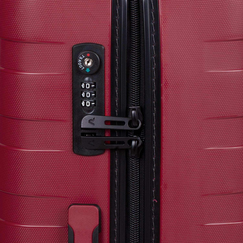 87f7f410d ... Veľký červený kufor na kolieskach roncato, červená, 960-5727 - 15 ...