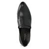 Dámske čierne kožené mokasíny vagabond, čierna, 514-6150 - 17