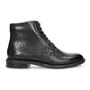 Kožená členková dámska obuv vagabond, čierna, 524-6010 - 19