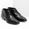 Pánska kožená členková obuv bata, čierna, 824-6892 - 26