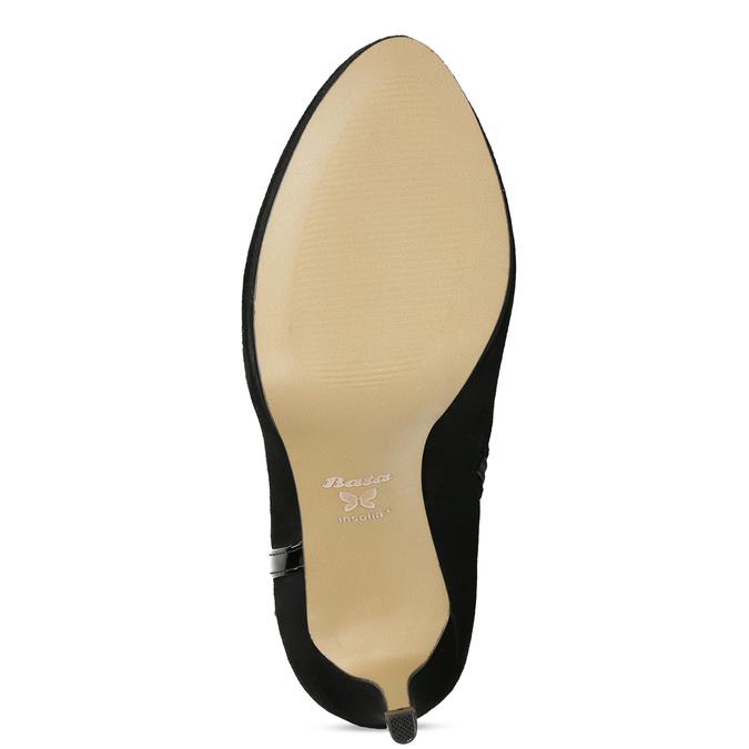 Členkové čižmy na ihličkovom podpätku bata, čierna, 799-6623 - 18