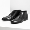 Pánska kožená členková obuv bata, čierna, 824-6892 - 16