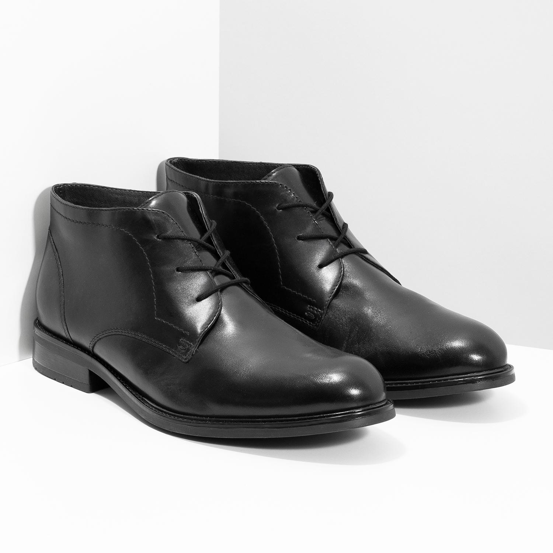 Baťa Kožená pánska členková obuv - Všetky topánky  c46ac7b772c