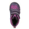 Členkové detské topánky s teplou podšívkou bubblegummers, fialová, 123-5610 - 17