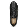 Čierne dámske tenisky s kamienkami bata-light, čierna, 549-6611 - 17
