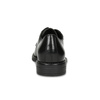Čierne dámske kožené poltopánky bata, čierna, 524-6666 - 15