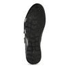Pánske kožené tenisky na suchý zips geox, čierna, 814-6086 - 18