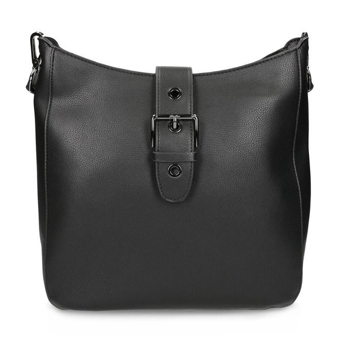 Čierna dámska kabelka s prackou bata, čierna, 961-6870 - 26