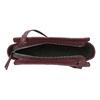 Vínová kabelka v crossbody štýle bata, červená, 961-5885 - 15