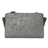 Crossbody kabelka s kamienkami bata, šedá, 961-1885 - 26