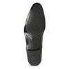 Čierne pánske kožené Oxford poltopánky conhpol, čierna, 824-6645 - 18