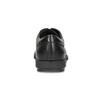 Pánske čierne kožené poltopánky flexible, čierna, 824-6766 - 15