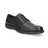Pánske čierne kožené poltopánky flexible, čierna, 824-6766 - 13