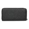 Čierna dámska peňaženka na zips bata, čierna, 941-6223 - 16