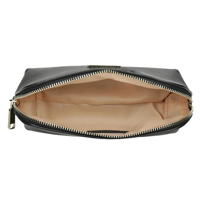 Dámske čierne púzdro na zips bata, čierna, 941-6224 - 15