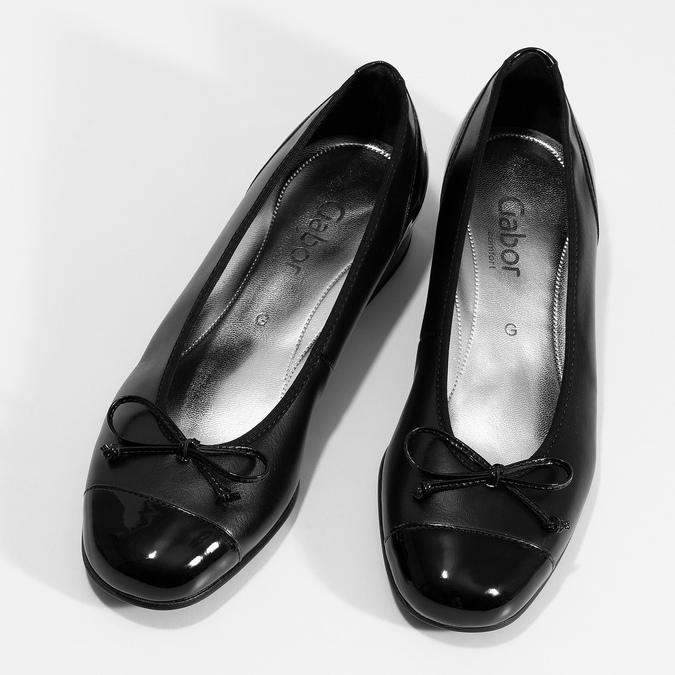 Lodičky gabor, čierna, 524-6452 - 16