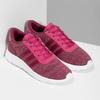 Ružové detské tenisky so žíhaním adidas, ružová, 409-5188 - 26