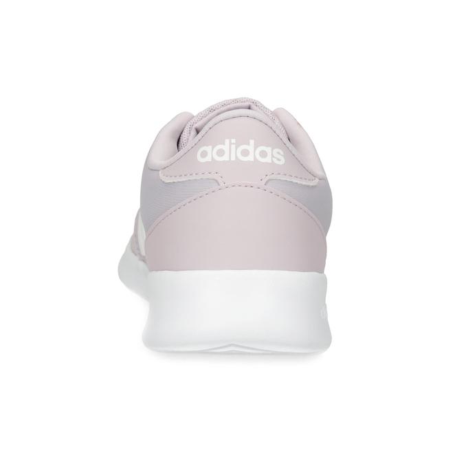 Dámske ružové tenisky s bielou podrážkou adidas, ružová, 501-5103 - 15