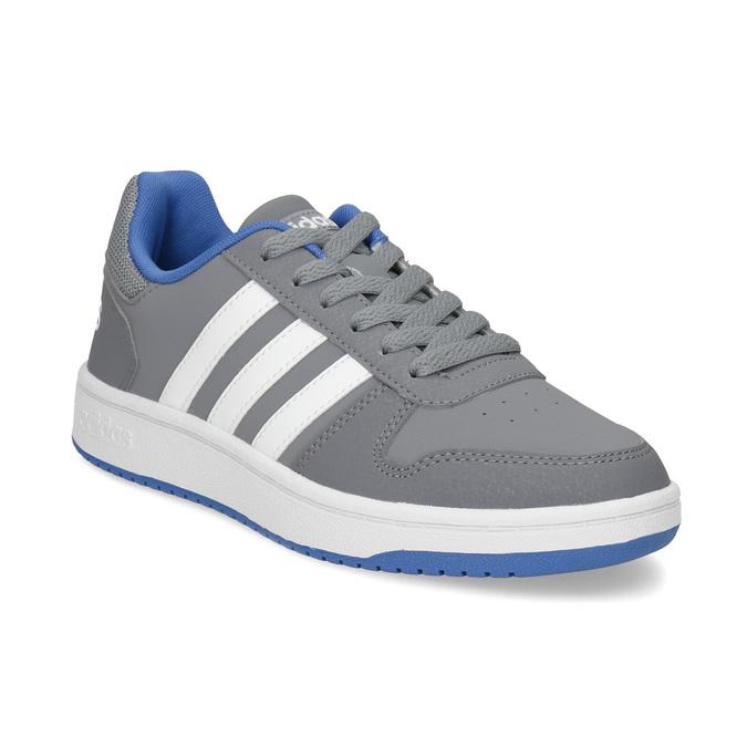 Šedé detské ležérne tenisky adidas, šedá, 401-2337 - 13