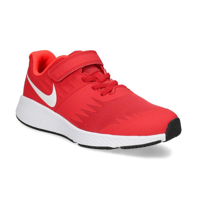 Nike Červené detské tenisky na suchý zips - Športové značky  154f42925b0