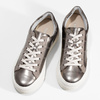 Strieborné kožené dámske tenisky marc-o-polo, bronzová, 626-8018 - 16