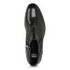 Kožená členková pánska obuv s prešitím bata, čierna, 824-6621 - 17