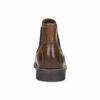 Pánska kožená obuv v štýle Chelsea bata, hnedá, 826-3865 - 15